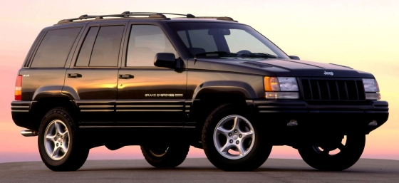 1998 jeep grand cherokee 5 9 limited muscle suv pioneer old car memories. Black Bedroom Furniture Sets. Home Design Ideas