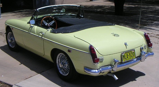 1969 Mg Mgb Roadster A Beautiful Rolling Piece Of