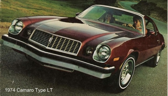 1974-1981 Chevrolet Camaro – the Youth Car of the 1980s ...
