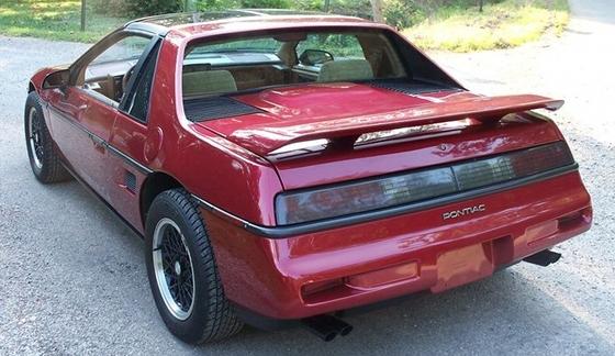 Worksheet. 1988 Pontiac Fiero Formula  Finally a True Sports Car  Old Car