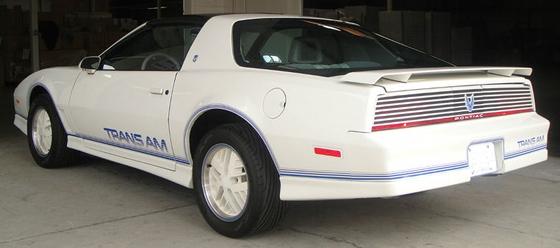 1984 Pontiac Trans Am 15th Anniversary Edition Uber