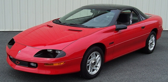 1993 Chevrolet Camaro Z28 The High Compression Muscle