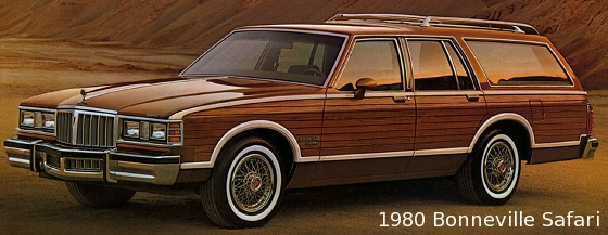 80s Flashback 1980 1989 Pontiac Bonneville Safari