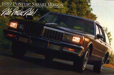 '80s Flashback: 1980-1989 Pontiac Bonneville Safari/Catalina Safari/Parisienne/Safari Wagon ...