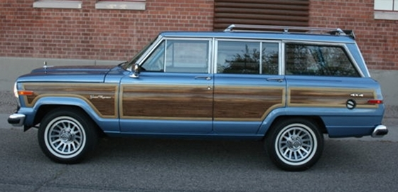 1991 Jeep Grand Wagoneer End Of The Longest Production