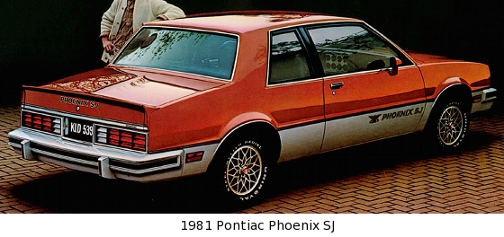 Mustang Sport Wagon >> 1982-1984 Pontiac Phoenix SJ/SE - Pontiac's First Front-Wheel Drive Muscle Car - Old Car Memories