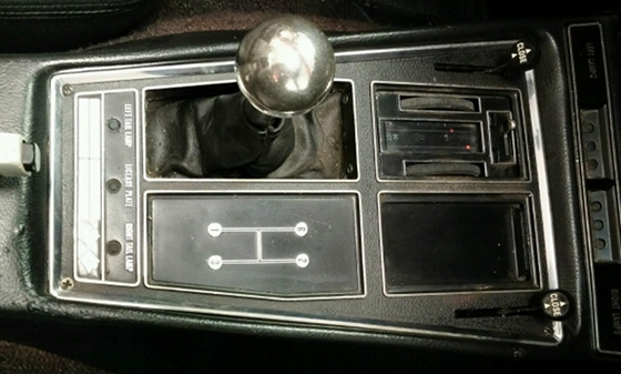 ford 4 speed transmission shifter identification