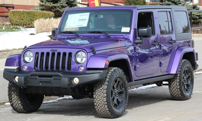 Jeep Wrangler Paint Colors