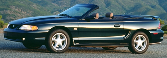 19941995 Ford Mustang GT  Last of the Pushrod V8 Mustang GTs