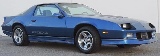 1985-1990 Chevrolet Camaro IROC-Z – The Zesty Camaro - Old Car Memories