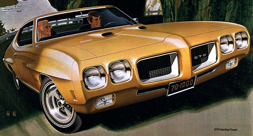 Pontiac GTO History  Part 3 19701972  Old Car Memories