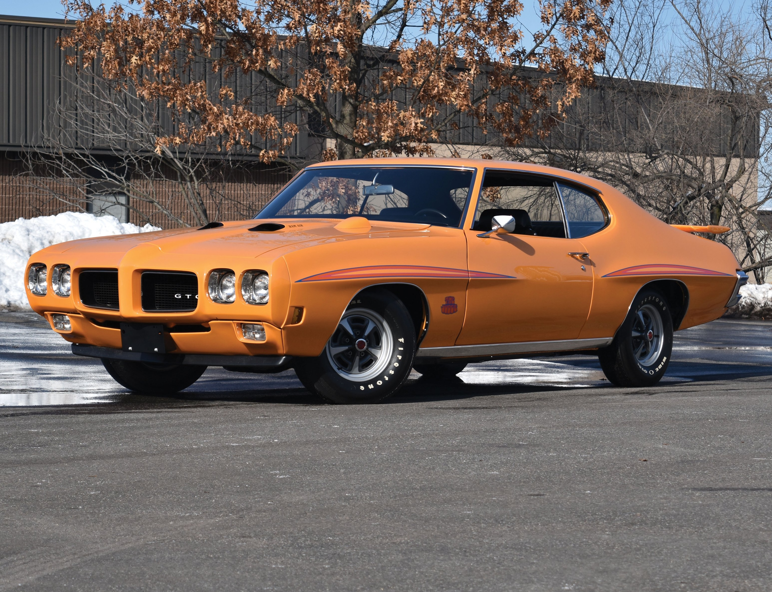 Pontiac GTO History – Part 3: 1970-1972 - Old Car Memories