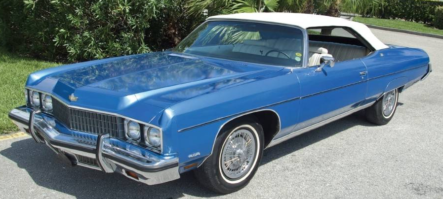 What Is So Special About The 1973 1975 Caprice Classic Convertible It Was Last Of Its Kind A Big 2 Door Chevrolet Which Could Fit 6 Adults Comfortably