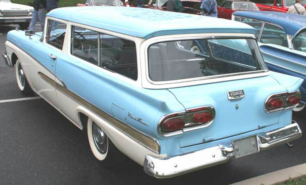 1957-1958 Ford Del Rio - Ford's Sport Wagon - Old Car Memories